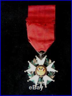 1848 Deuxieme République Ordre de la Légion d'Honneur chevalier argent Or