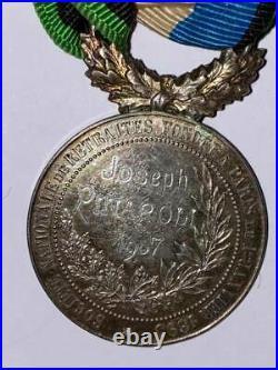 1870 médaille de Belfort et anciens militaires attribuée