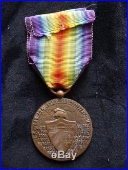 1914 1918 Cuba Médaille Interallié
