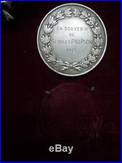 1915 Medailles Societe Française de Secours aux Blesses Militaire