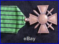 1944 Etat Francais Croix de guerre