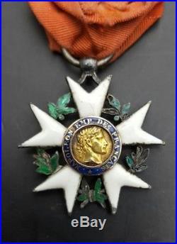 1er Empire premier type grosse tete legion honneur Napoleon 1804 order medal