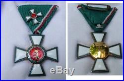 2 médailles Ordre du mérite Hongrie