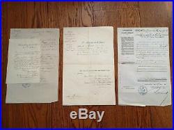 28 Brevets & Lettres Second Empire Al Valore Militare Legion D'honneur Medjidié