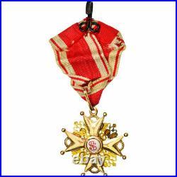 #555487 Russie, Ordre de Saint Stanislas, Nicolas II, Médaille, Excellent