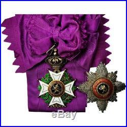 #555490 Belgique, Grand Cordon de l'Ordre de Léopold Ier, Médaille