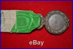 A1 Médaille militaire des volontaires mineurs de la guerre 1870 french medal