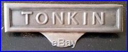 Agrafe Tonkin à clapet arrondi pour médaille Coloniale