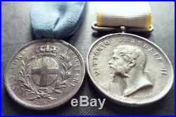 Al Valore Militare Spedizione Oriente Crimea 1855 Médaille Sarde Empire Napoléon