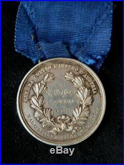 Al Valore Militare attribuée CAPno 2é REG Bataille Madonna della Scoperta 1859
