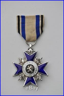 Allemagne Baviere, Ordre du Mérite Militaire de 4° classe