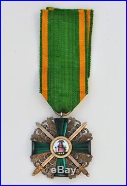 Allemagne Grand duché de Bade, ordre du Lion de Zaringhen, chevalier militaire