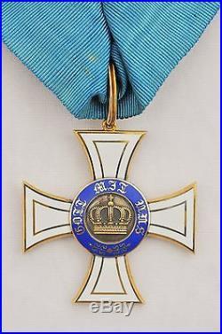 Allemagne, Prusse, Ordre de la Couronne, croix de commandeur en or