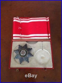 Ancienne XIX Médaille Ordre Décoration St Stanislas En Argent Russie Militaire