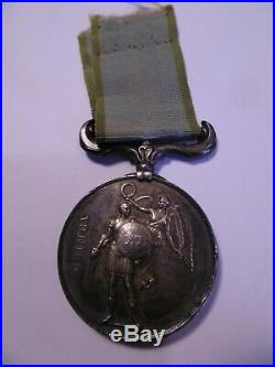 Angleterre Médaille de Crimée 1854 Attribuée Named Crimea 1854 Medal