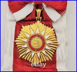 Argentine Ordre du Mérite, ensemble de grand croix