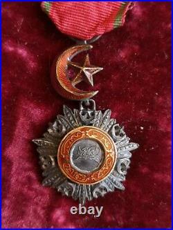 Armée D'orient Écrin Avec Légion D'honneur Et Ordre Du Médjidié Second Empire