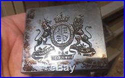 Authentique Armoiries Royale Royaume Uni Britannique Matrice Sceau Graveur Stern
