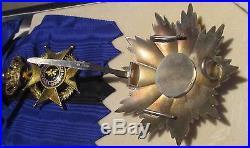 Belgique Grand Croix Ordre De Leopold II En Argent