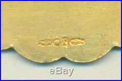 Barrette pour Medaille coloniale en or 18 carats DE L'ATLANTIQUE A LA MER ROUGE