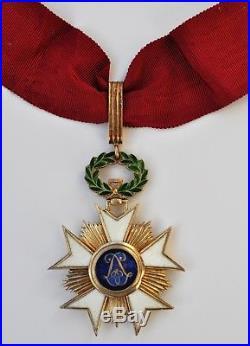 Belgique Croix de commandeur de l'ordre de la Couronne