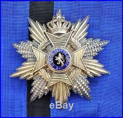 Belgique Ensemble de Grand Croix de l'ordre de Léopold II