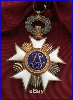 Belgique Ensemble de Grand-Croix de lOrdre de la couronne Sup