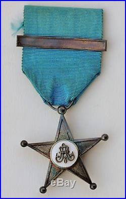 Belgique Etat indépendant du Congo, étoile de service, 2° type
