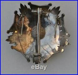 Belgique Ordre de la Couronne, plaque de Grand Officier