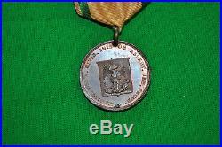 Belgique Rare Médaille de la Garde Bourgeoise de Bruxelles 1814 1815