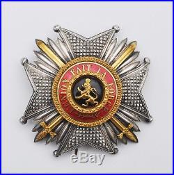 belgique plaque de grand officier de l ordre de l opold. Black Bedroom Furniture Sets. Home Design Ideas