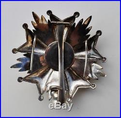 Belgique plaque de Grand officier de l'ordre de la Couronne
