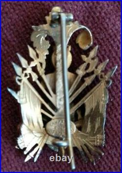 Bélière ordre de malte, chevalier de justice d'honneur et de dévotion