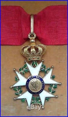 Belle étoile de commandeur de la Légion d'Honneur époque Présidence