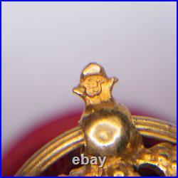 Belle médaille en demi-taille, d'officier de la légion dhonneur en or, 1er Empi