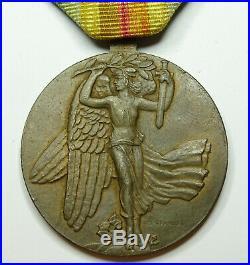 Belle médaille interalliée modèle TCHECOSLOVAQUIE guerre 14 18