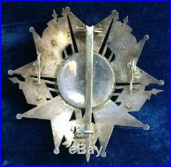 Belle plaque de Grand Officier de la Légion d'Honneur période Louis Philippe