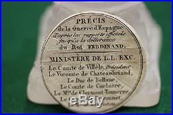 Boite- Medaille Precis De L Expedition D Espagne En 1823 Et Notice