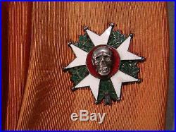 Brassard Legion D'honneur Combattant 14/18 Poilu Tete De Mort
