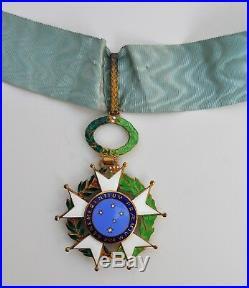 Brésil Ordre de la Croix du Sud, commandeur en vermeil et émail