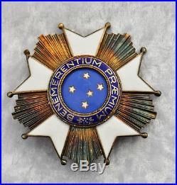 Brésil Ordre de la Croix du Sud, ensemble de grand croix