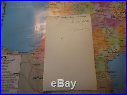 Brevet militaire de parachutiste N° 12 631 guerre d'Indochine authentique 1946