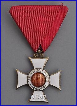 Bulgarie Ordre de St. Alexandre, chevalier en argent et émail