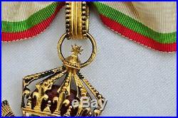 Bulgarie Ordre du Mérite Civil, ensemble de Grand Officier