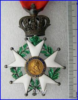 CHEVALIER ORDRE LEGION D'HONNEUR EPOQUE RESTAURATION 1815-1830 medaille
