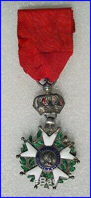 CHEVALIER ORDRE LEGION D'HONNEUR medaille