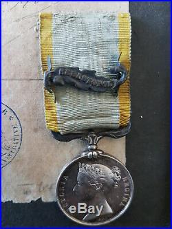 CITATIONS + MÉDAILLE GUERRE CRIMÉE +Médaille Campagne d'Italie LIXHEIM MOSELLE