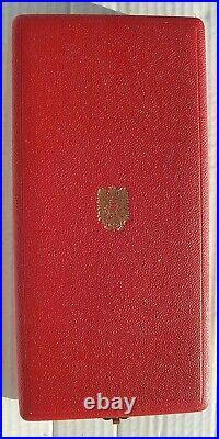 COFFRET ORDRE DU MERITE DE LA REPUBLIQUE D'AUTRICHE plaque + commandeur