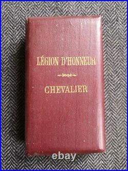 CROIX DE CHEVALIER DE LA LÉGION D'HONNEUR 4ème RÉPUBLIQUE MODÈLE LUXE BIJOUTIER
