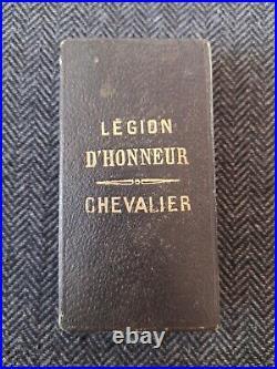 CROIX DE CHEVALIER ORDRE DE LA LÉGION D'HONNEUR 3ème RÉPUBLIQUE MAISON LEMOINE